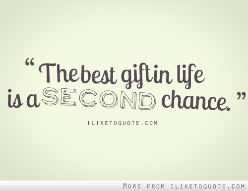second chance in life essay Free essay on change in my life available totally free at echeatcom, the largest free essay community.
