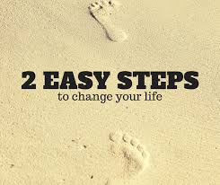 2 steps to change