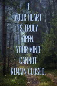 heart truly open