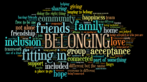 belonging words
