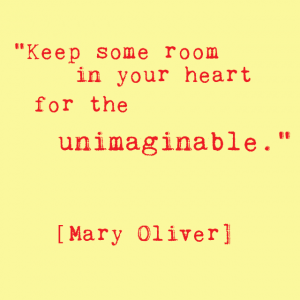 Mary oliver heart quote