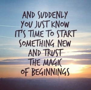 a new beginning